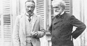 Verdi et son librettiste Arigo Boito pour Boccanegra, Otello et Falstaff