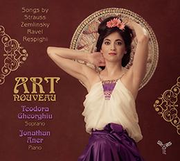 Teodora Gheorghiu chnate l'Art Nouveau