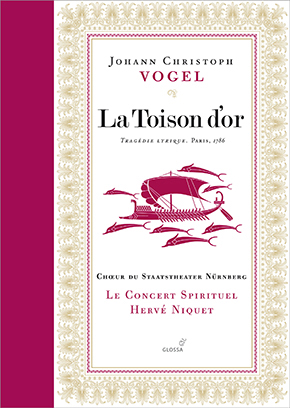 Vogel La Toison d'or cd Glossa