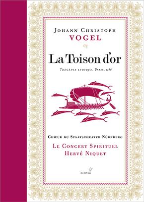 Vogel La Toison d'or cd Glossa