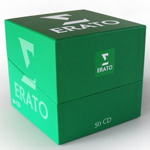 Erato, coffret 50 cd