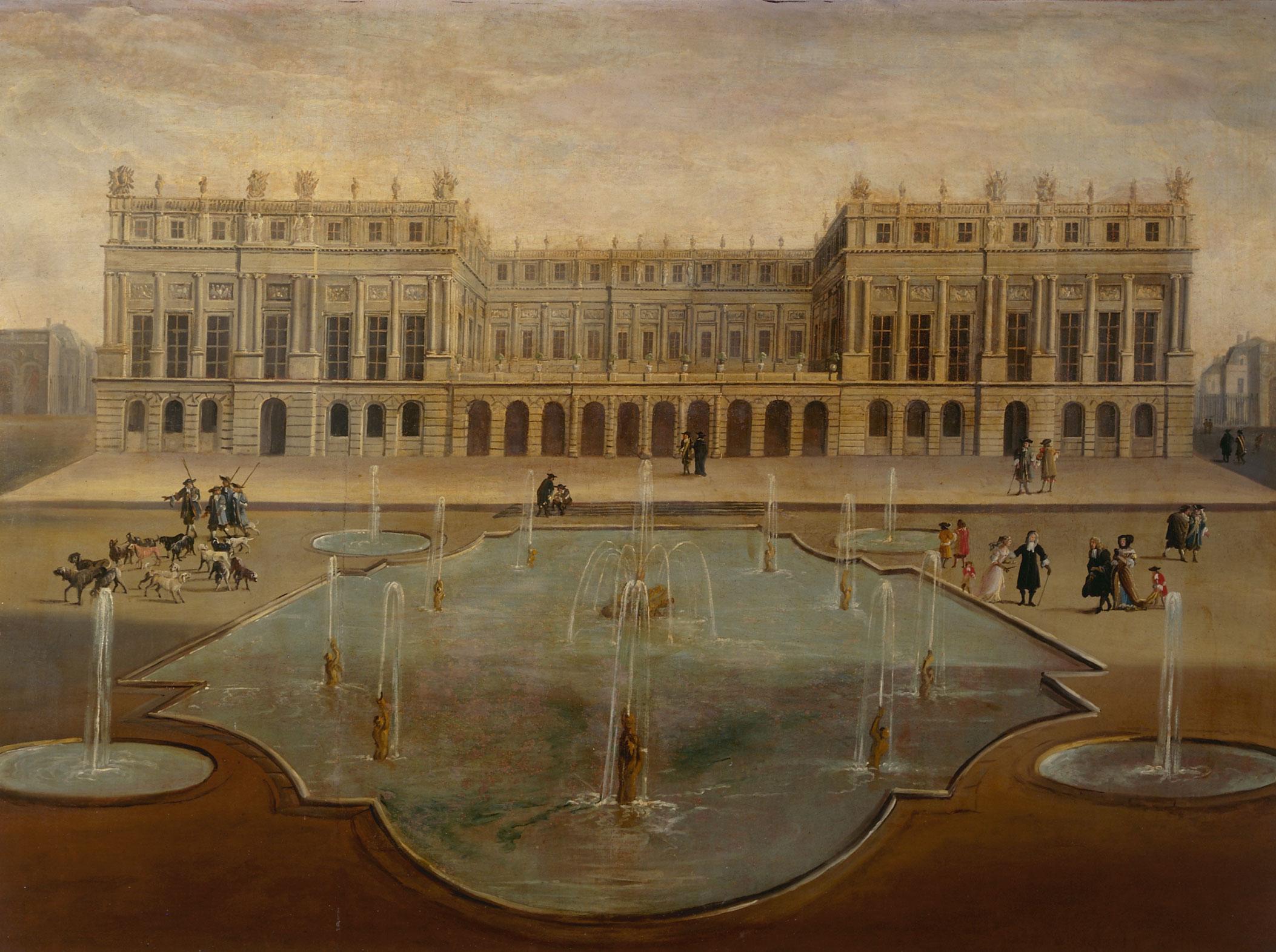 Versailles terrasse jardins