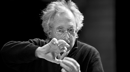 Philippe Herreweghe portrait
