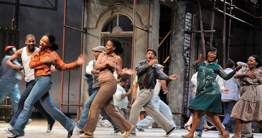 Porgy and Bess, Bordeaux, Gershwin, Cape Town
