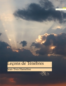 lecons tenebres ambronay editions hameline vellard