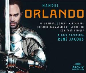 Orlando rene jacobs archiv-CD