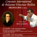 bellini concours international Vincenzo bellini