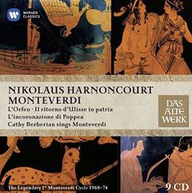 monteverdi harnoncourt operas barberian warner coffret cd