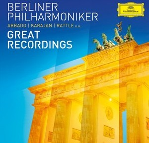 berliner philharmoniker abbado karajan great recordings cd deutsche grammophon