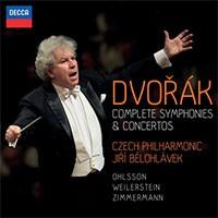 dvorak jiri belohlavek symphonies conertos complete integrale decca 8 cd