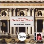 opera de paris une histoire sonore opera de paris 1900 1060 cd Malibran MM