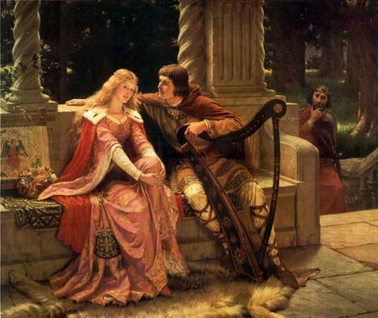 Trouvère verdi Tristan-Isolte-Music-Edmund-Blair-Leighton1