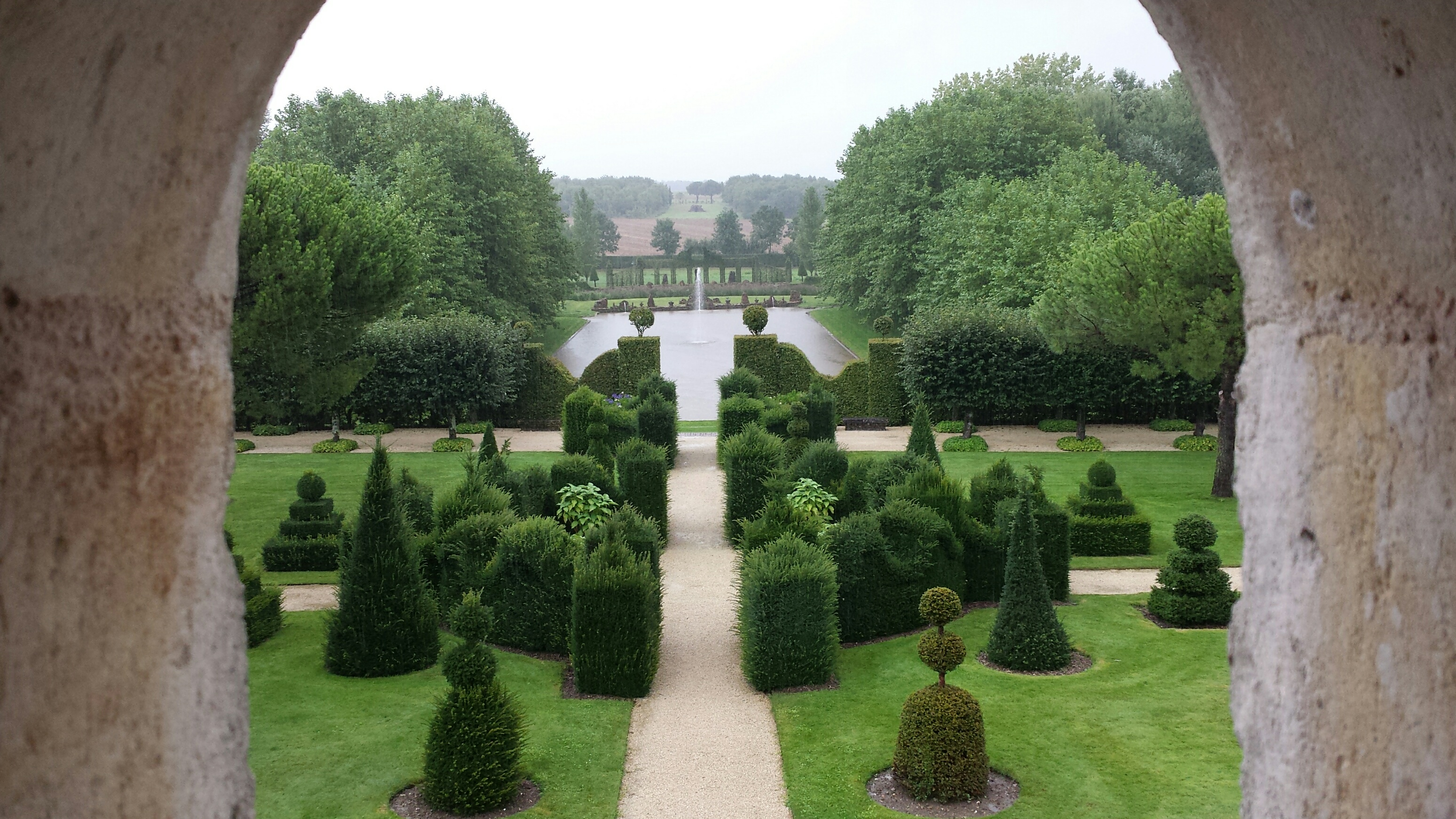 Dans les jardins de william christie thir en vend e for Jardin william christie
