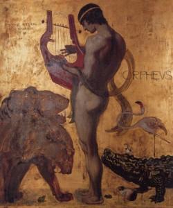 FranzVonStuck-Orpheus-1891 via visionsofwhimsy