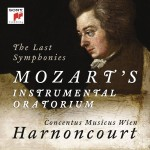 harnoncourt mozart symphonies last symphonies 39, 40, 41 instrumental oratorium concentus musicus wien cd sony classical