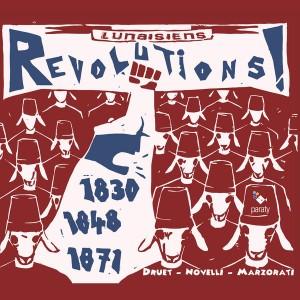 lunaisiens revolutions 1830 1848 1871 druet novelli marzorati PARATY