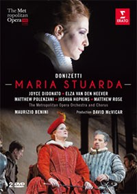 maria stuarda joyce di donato ERATO DVD Metropolitan opera new york 2 dvd