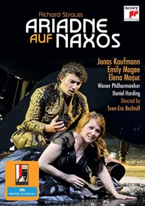 strauss ariadne 1912 salzbourg sazlburg 2012, jonas kaufmann emily magee dvd Sony classical