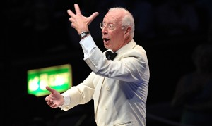William Christie conducts Les Arts Florissants at Prom 17.