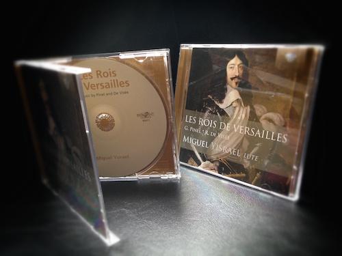 cd miguel yisrael luth les rois de Versailles