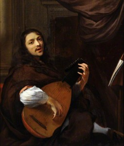 luth portrait luthiste 1661
