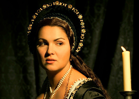 Vienne, mars 2015 : Anna Netrebko reprend le rôle d'Anna Bolena