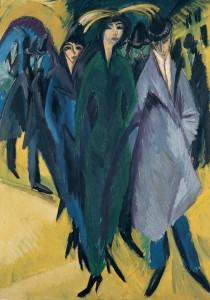 kirchner femmes dans la rue 1915