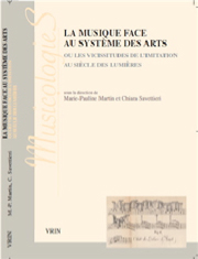 musique-face-au-systeme-des-arts-musicologies-edition-vrin-compte-rendu-critique-classiquenews-Marie-paule-martin-chiara-savettieri-livres-decembre-2014