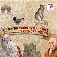 haydn symphonies parisiennes norrington sony classical cd 88875021332