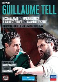 Tell guillaume rossini Juan diego florez decca dvd