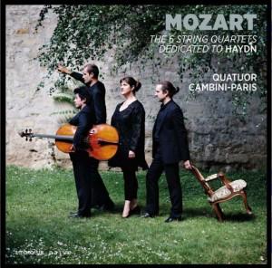 cambini paris 6 quatuors de mozart dedies a Haydn 3 cd ambroisie