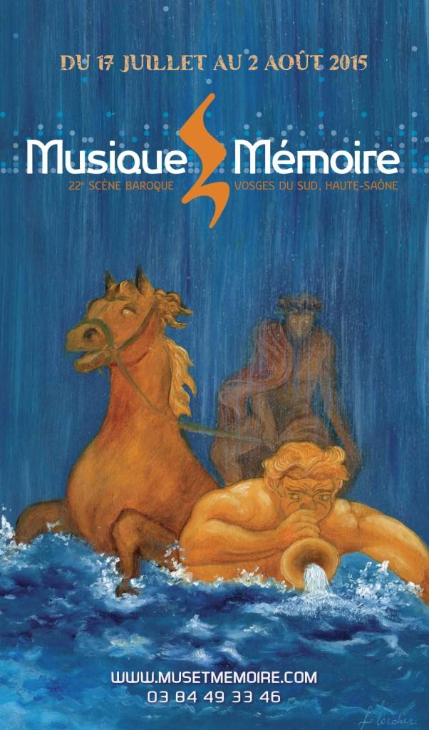 visuel festival Musique et Mémoire 2015