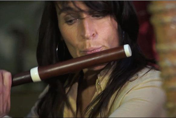 LYON. Diana Baroni, chant et flûte enchantée