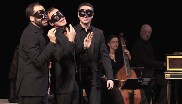 william-christie-les-arts-florissants-video-airs-serieux-et-a-boire-vaux-le-vicomte-classiquenews-trio-Moliere-Charpentier-Mariage-force