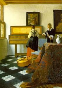 Vermeer : le silence est musique