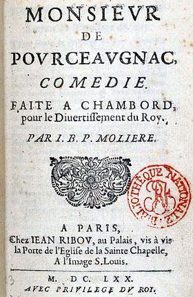 pourceaugnac -Monsieur_de_Pourceaugnac,_Molière,_couverture