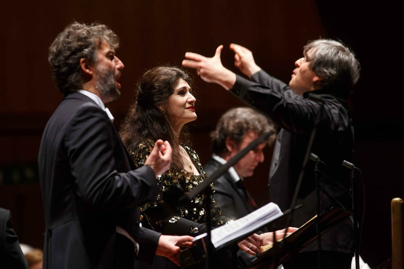 jonas kaufmann anja harteros enregistrent AIDA Antonio Pappano VERDI review announce annonce classiquenews