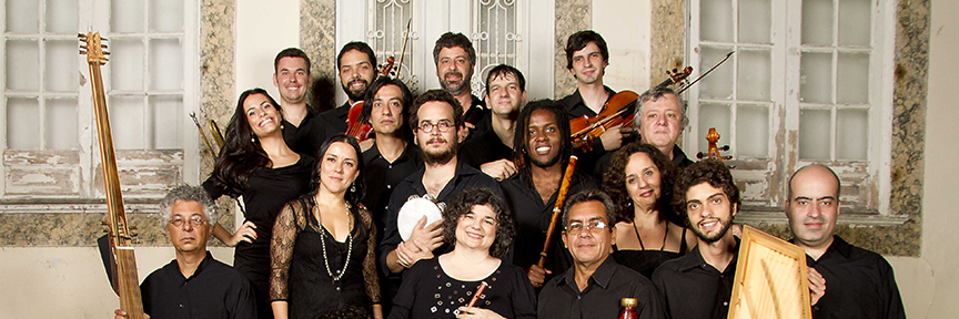 OBU orchestre baroque de l'université de Rio Orquesra barroca da Unirio