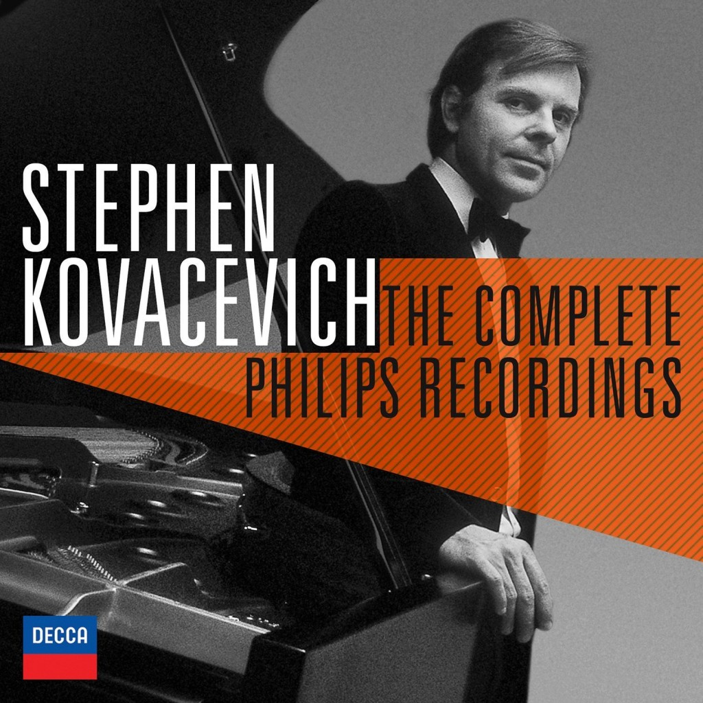 kovacevich stephen decca the complete recordings on Philips presentation review compte rendu cd coffret decca CLASSIQUENEWS