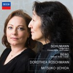 schumann-cd-review-critique-CLASSIQUENEWS-dorothea-roschmann-mitsuko-uchida-lieder-decca-&-cd-critique-review-CLASSIQUENEWS