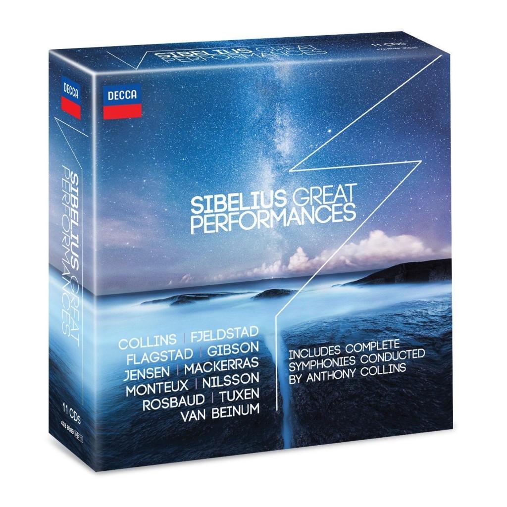 sibelius great performances decca box coffret review critique compte rendu 11 cd compte rendu critique classiquenews