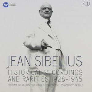 sibelius warner historical recordings 1928 1945 warner box 7 cd coffret critique review compte rendu critique CLASSIQUENEWS
