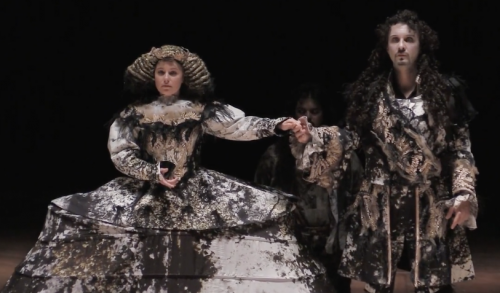 xerse cavalli paris 1660 opera de lille le roi et l'Infante Amastre et Xerse se marient clip video classiquenews