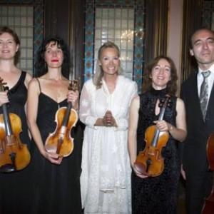 SOmbart Quatuor resonances elizabeth sombart concert Chopin concertos pour piano version de chambre