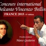 5ème CONCOURS BELLINI à La Garenne Colombes : les 3 et 4 décembre 2015