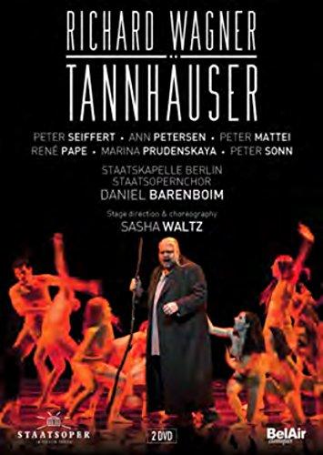 tannhauser wagner barenboim seiffert pape mattei opera dvd review critique classiquenews