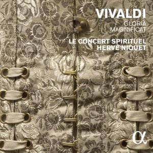 vivaldi gloria magnificat cd herve niquet concert spirituel cd critique cd review compte rendu critique cd CLASSIQUENEWS cd magnificat ALPHA cd
