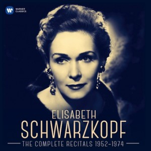 Elisabeth Schwarzkopf Complete Recitals  952 1974 review compte rendu account of critique cd CLASSIQUENEWS noel 2015 Warner Classics Cover