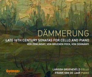 Groeneveld larissa violoncelle cello review compte rendu critique cd classiquenews zemlinsky dohnanyi cd gutman records CLIC classiquenews