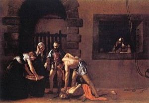 caravage decollation saint jean baptiste malte la vallette